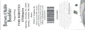 Voucher for Bookmarks